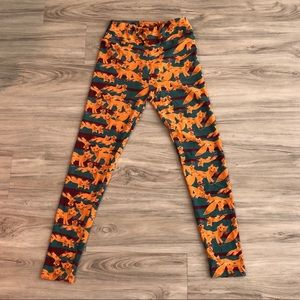 Like new LulaRoe fox leggings